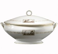 Richard Ginori Impero Fiesole Tureen with Cover 4.000 ltr